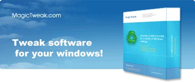 Tweak software for your Windows